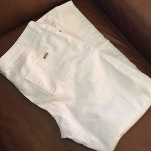 Chico's So Slimming White Jeans Sz 2 (12-14)